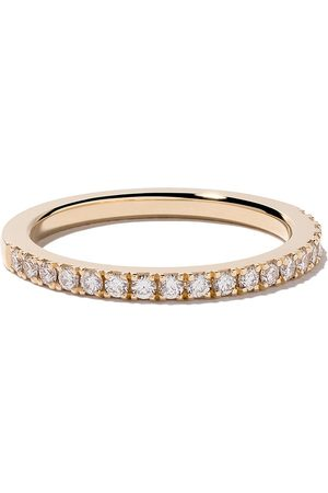 De Beers Bague DB Classic Half Pavé en or 18ct et diamants