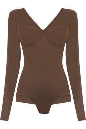 AMIR SLAMA Femme Bodys - Long sleeved bodysuit