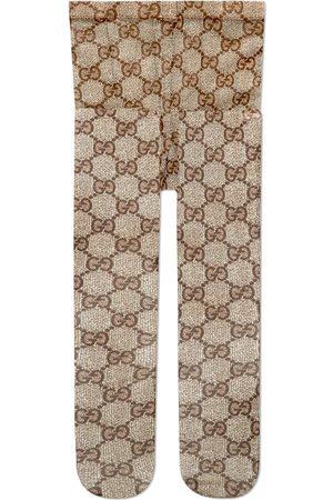 Gucci Collants à logo GG entrelacé