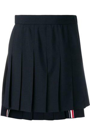 Thom Browne Minijupe plissée School Uniform