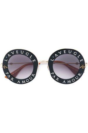 Gucci Lunettes de soleil à monture ronde