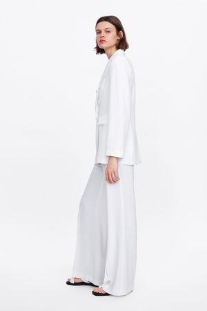 Zara Pantalon large fluide