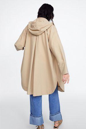 Zara Blouson léger à capuche
