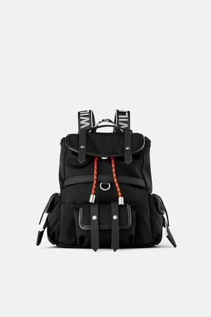 Zara Mini sac à dos en nylon