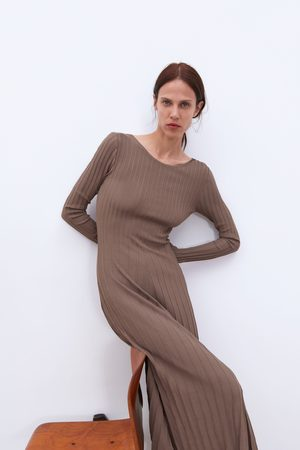 0ce7a889ece Robes en maille femme tous Zara - comparez et achetez