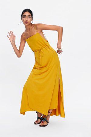 Zara Robe style lingerie à fentes