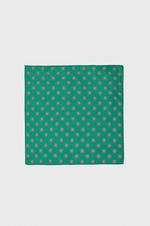 Zara Mouchoir de poche à imprimé cravate