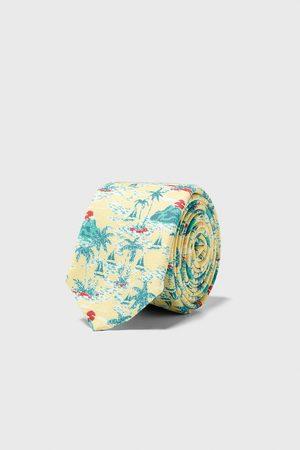 Zara Homme Cravates - Cravate slim jacquard