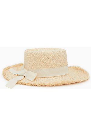 Zara Chapeaux - Chapeau de paille avec ruban