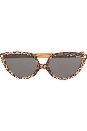 Mykita Lunettes de soleil Sosto Paz Leopard