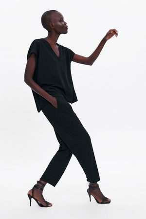 Zara Pantalon à lacet