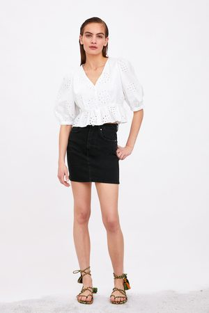 Zara Mini jupe en jean