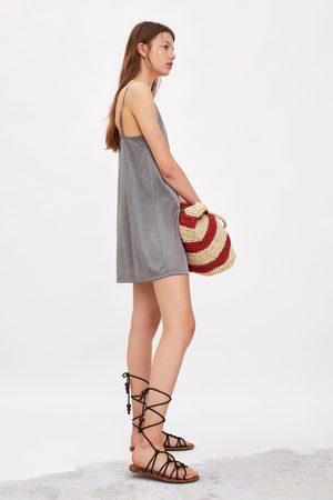 Zara Robe style lingerie satinée