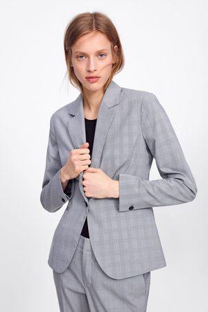 Zara Veste à carreaux
