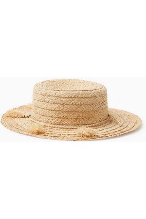 Zara Chapeaux - Chapeau de paille uni