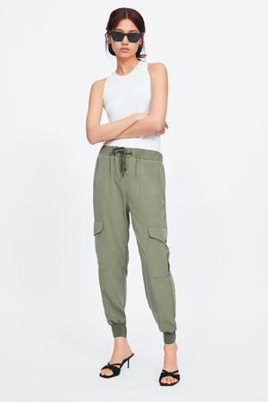Zara Pantalon de jogging à poches