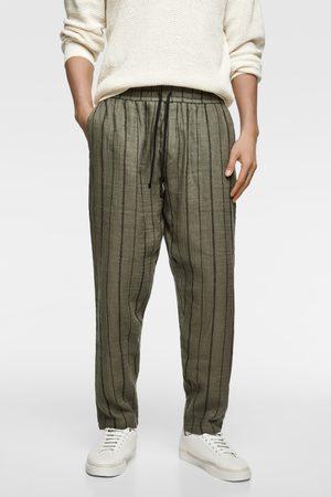 Zara Pantalon de jogging à rayures