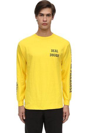 """1800-PARADISE T-shirt En Coton Manches Longues """"deal Dough"""""""