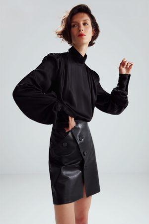 Zara Mini-jupe en cuir édition limitée