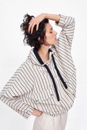 Zara Blouson rustique à rayures