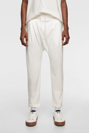 Zara Pantalon jogger baggy