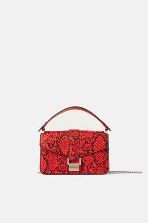 Zara Femme Sacs & Valises - Mini sac de ville à imprimé animalier