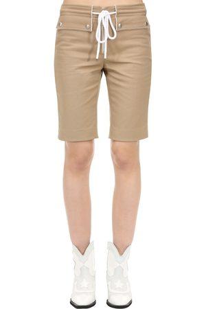 Courrèges Femme Shorts - Short En Coton Avec Cordons
