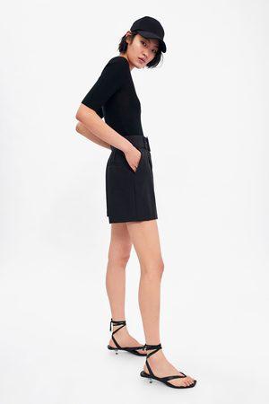 Zara Short à ceinture