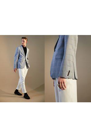 Zara Veste de costume à carreaux coolmax®