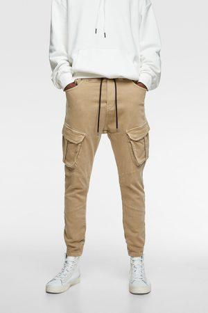 Zara Pantalon de jogging en jean soft