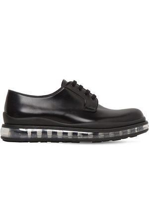 """Prada Chaussures Derby En Cuir Brossé """"levitate"""""""