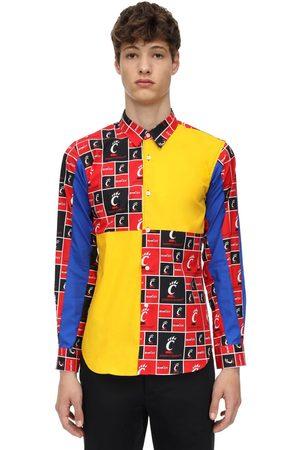 Comme des Garçons Patchwork Cotton Jersey T-shirt