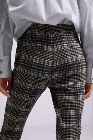 Zara Pantalon à carreaux