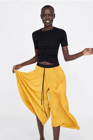 Zara Pantalon plissé
