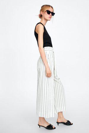Zara Pantalon à rayures