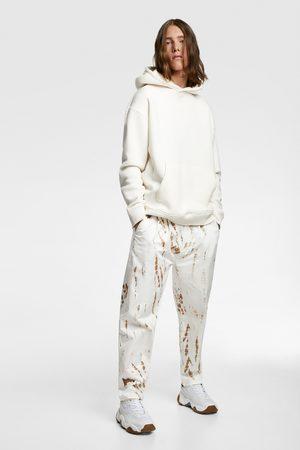 Zara Pantalon à imprimé tie-dye