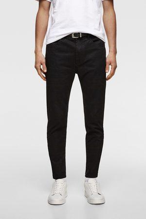 Zara Pantalon super skinny à ceinture