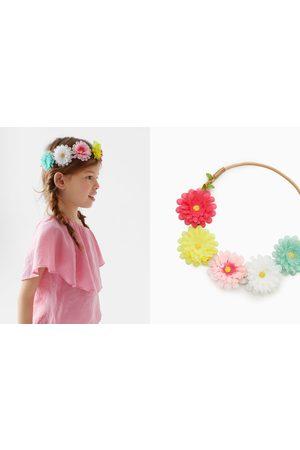 Zara Accessoires cheveux - Serre-tête élastique à fleurs