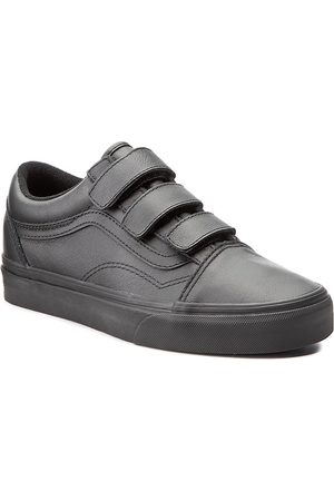 Vans Femme Chaussures - Chaussures basses - Old Skool V VA3D29OOZ (Mono Leather) Black