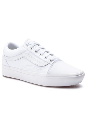 Vans Fille Baskets - Tennis - Comfycush Old S VN0A3WMAVNG1 True White/True