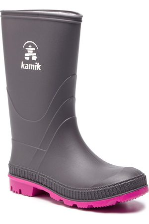 Kamik Bottes de pluie - Stomp EK4149 Chercoal Magenta