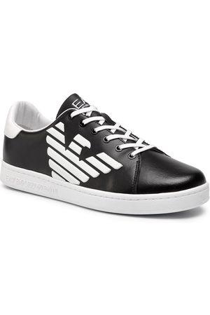 EA7 Fille Baskets - Sneakers - XSX006 XCC53 A120 Black/White