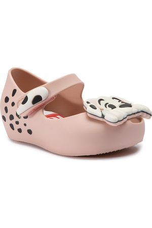 Melissa Fille Chaussures - Chaussures basses - Mini Ultragirl+101 D 32468 Pink/White 50552