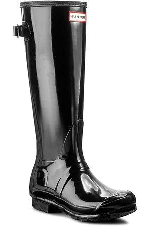 Hunter Femme Bottes de pluie - Bottes de pluie - Org Back Adjust Glos WFT1001RGL Black