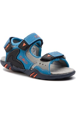 CMP Sandales - Kids Alphard Hiking Sandal 39Q9614 Cyano-Orange 25MC