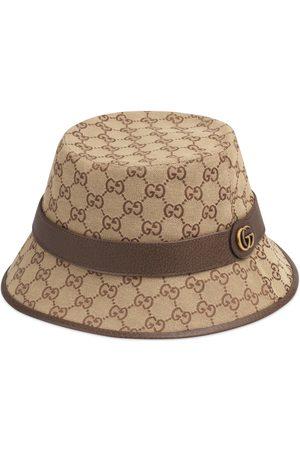 Gucci Chapeau fedora en toile GG