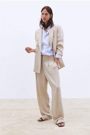 Zara Pantalon large à pinces