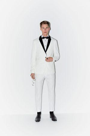 Zara Pantalon de costume structuré