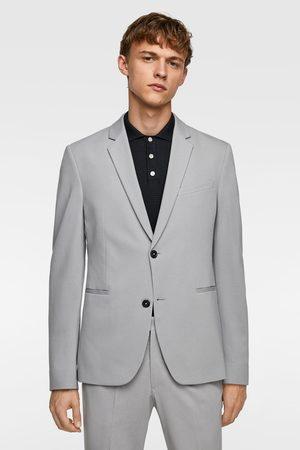 Zara Veste de costume confort en maille quadriextensible