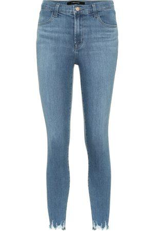 J Brand Jean skinny Alana raccourci à taille haute